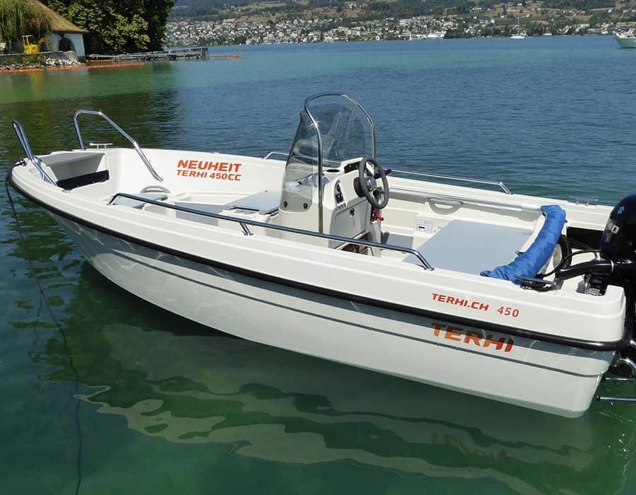 Terhi Motorboot 450 Konsolenboot mit Aussenborder