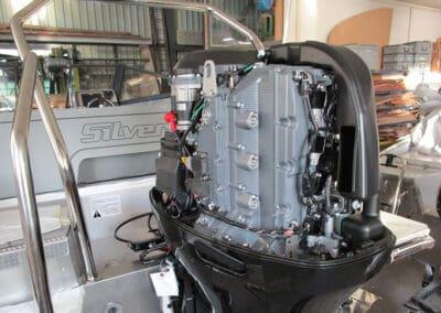Motorisierung Neuboot an Silver Eagle Aluminiumboot