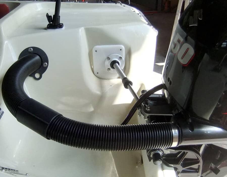 Hille Motorboot saubere neuinstallation Suzuki Aussenborder