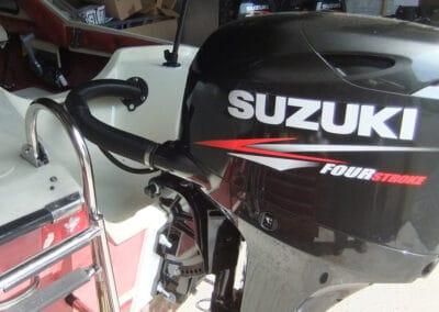 Hille Motorboot Neuinstallation Suzuki Aussenborder 60PS