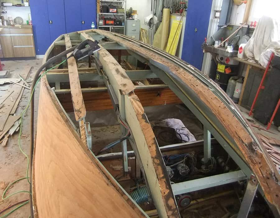Boesch Boot Holzboot Boden ersetzen