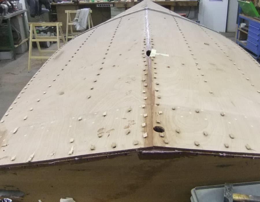Boeschboot boden ersetzen und anpassen