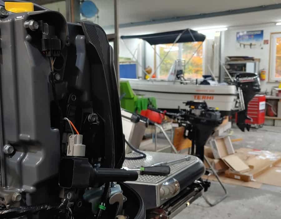 Motorenservice Aussenborder Werkstatt