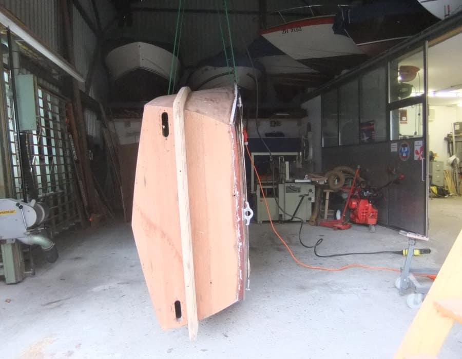 Boesch Motorboot Reparatur