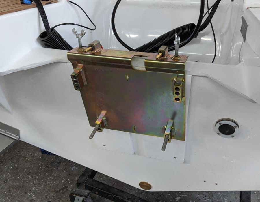 Aussenborder an Neuboot installieren silver Tiger