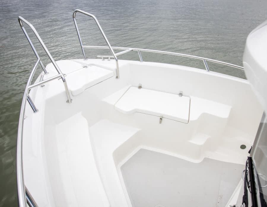 TG 6.9X Kabinenboot Vordeck ausstieg