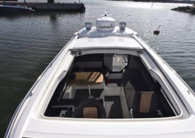 TG 7.9 Schiebedach auf dem Kabinenboot