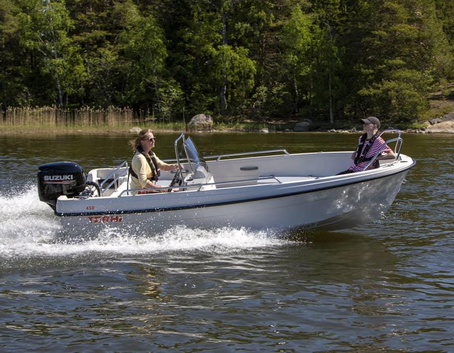 Terhi 450C Motorboot für Familien