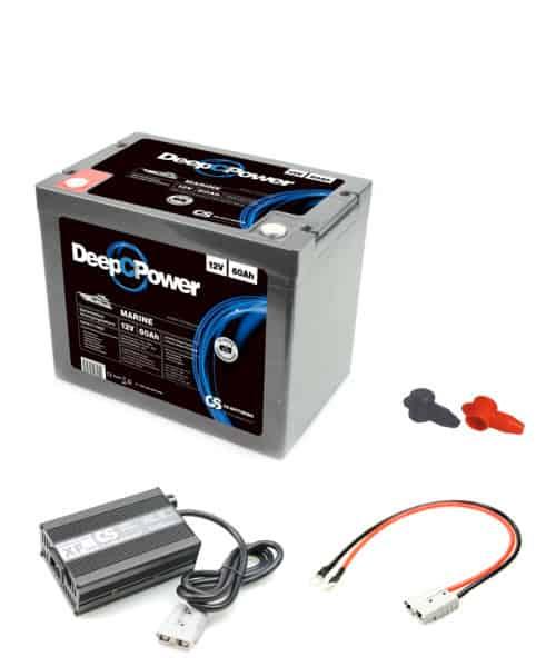 Batterie -Set Lithium 60AH