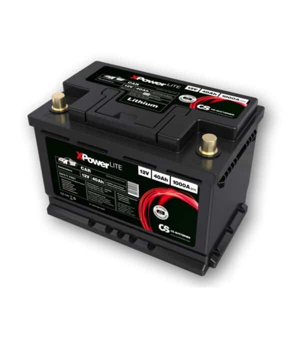 lithium ifepo4-auto starter-batterie 12v-40ah-1000a