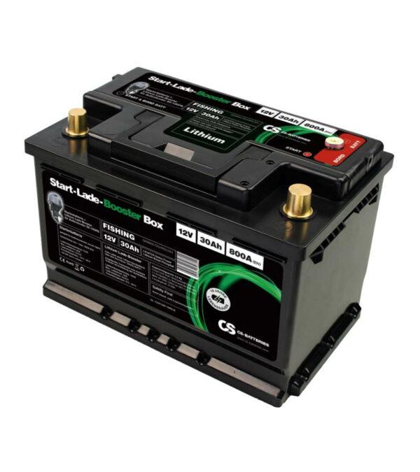 Starterbatterie mit Lithium Lade-booster